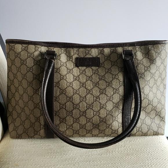 2ce31aabe36a Gucci Bags | Signature Tote Gg Surpreme | Poshmark